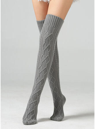 Solid Color Breathable/Comfortable/Knee-High Socks Socks/Stockings