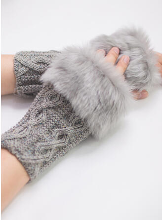 Solid Color/Crochet fashion/Comfortable/Women's Gloves