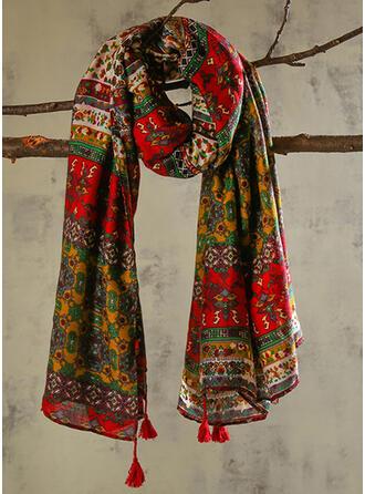 Retro/Vintage/Tassel/Bohemia fashion/Boho/Multi-color Scarf
