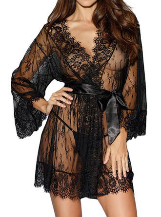 Polyester Lace Robe