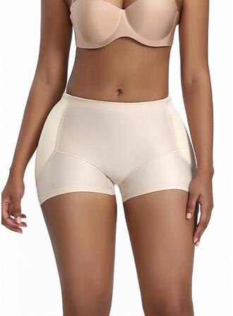 Cotton Spandex Nylon Chinlon Plain Patchwork Shapewear
