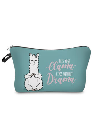 Animal Letter Makeup Bags