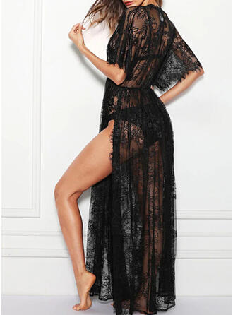 Polyester Lace Robe Cover Up