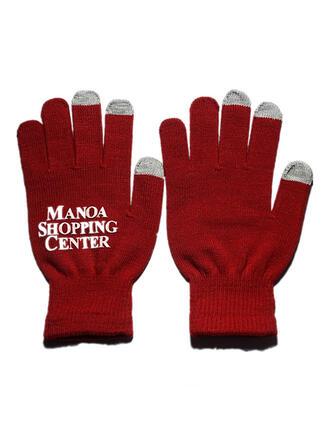 Solid Color/Letter Cold weather/Warm Gloves