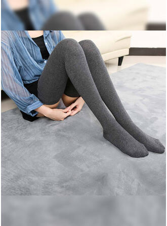 Solid Color Comfortable/Women's Socks/Stockings