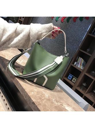 Unique/Dumpling Shaped/Commuting/Splice Color/Bohemian Style Tote Bags/Shoulder Bags