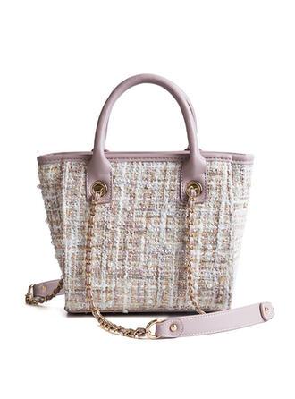 Charming/Dreamlike/Commuting/Braided Tote Bags/Shoulder Bags