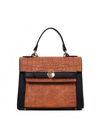 Elegant/Killer/Alligator Pattern/Commuting/Bohemian Style Tote Bags/Shoulder Bags