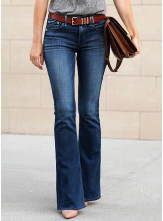 Plus Size Long Boho Sexy Denim & Jeans