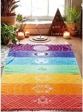 Retro/Vintage/Tassel/Bohemia/Geometric/Colorful Square/simple/Boho/Multi-functional/Colorful/Sand Free/Quick Dry Beach Towel