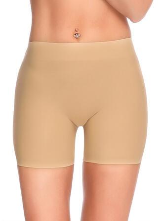 Lace Plain Patchwork Boyshort Panty