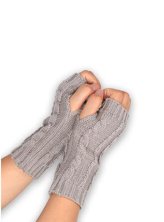 Crochet fashion/Comfortable/Fingers Gloves