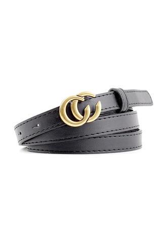 Unique Fashionable Stylish Vintage Classic Simple Leatherette Women's Belts 1 PC