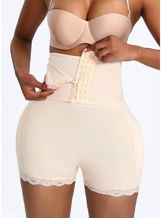 Polyester Spandex Lace Plain Shapewear