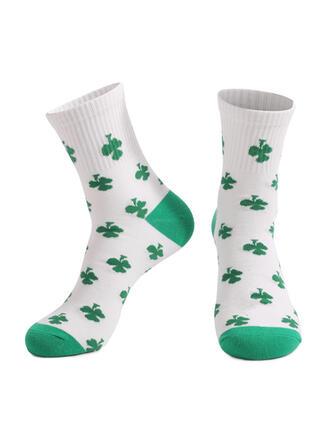 Leaves Crew Socks/Unisex/St. Patrick's Day Socks