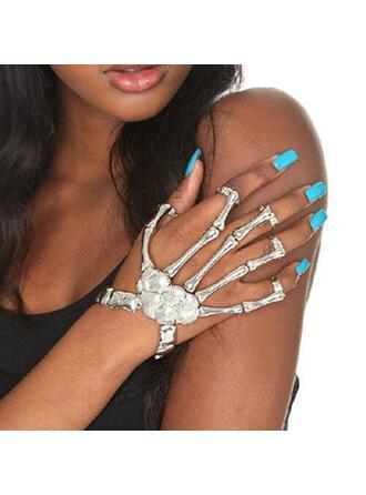 Skeleton Halloween Alloy Bracelets