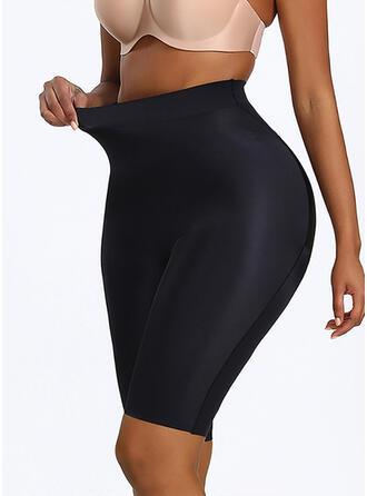 Polyester Spandex Nylon Chinlon Plain Shapewear