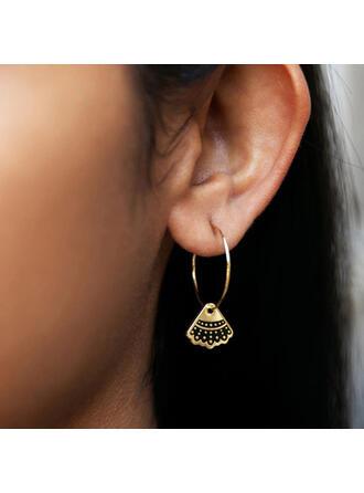 Triangle Dainty Alloy Women's Earrings 2 PCS