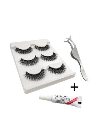 3-pairs Sexy Eyelash Lace Mink With PVC Bag