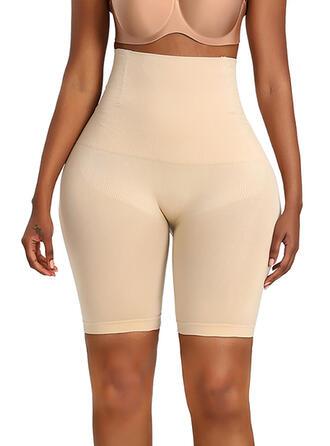Spandex Nylon Chinlon Plain Shapewear