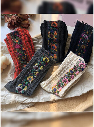 Bohemia Breathable/Comfortable/Women's/Crew Socks Socks (Set of 5 pairs)