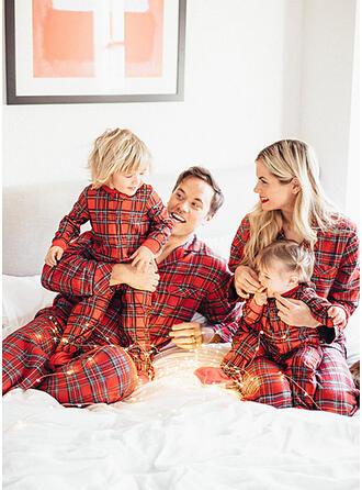 Plaid Family Matching Pajamas