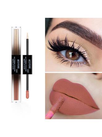 Matte Shimmer Lip Gloss Eyeshadow With Box