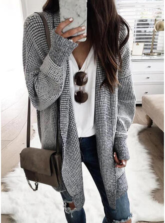 Solid Casual Sweaters