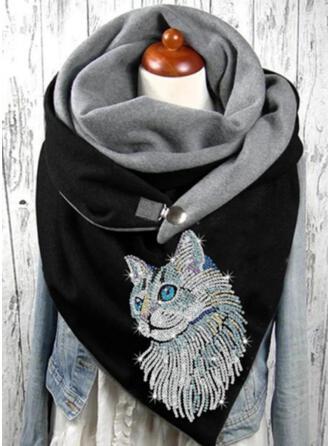 Animal Print/Graphic Prints Warm Scarf