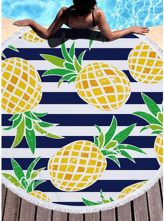 Striped/Tassel/Bohemia/Food Light Weight/Boho/Multi-functional/Sand Free/Quick Dry Beach Towel