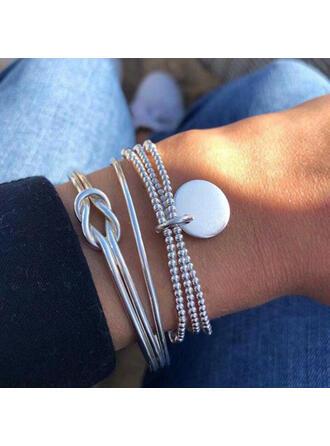 Unique Exquisite Stylish Alloy Jewelry Sets Bracelets Beach Jewelry (Set of 3)