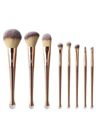 8 PCS Plain Fishtail Rod Makeup brush sets