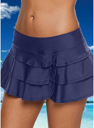 Bottom Ruffles Strapless Casual Bottoms Swimsuits