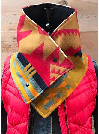 Geometric Print Light Weight/fashion Scarf
