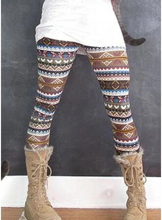 Shirred Plus Size Long Casual Yoga Leggings
