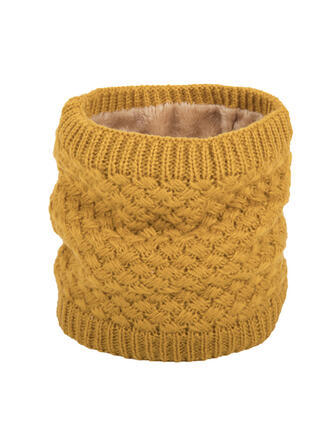 Solid Color/Crochet Neck/simple/Skin-Friendly Scarf