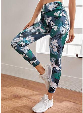 Print Long Sporty Lounge Pants